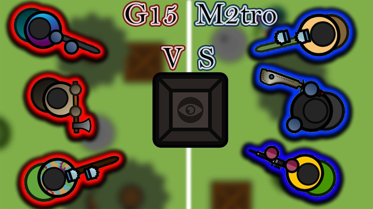 G15 VS M2tro | pro 3v3 surviv.io game play