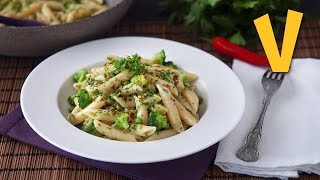 One-pot Pasta Broccoli And Peas | The Vegan Corner
