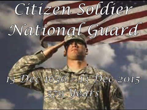 National Guard Birthday Tribute