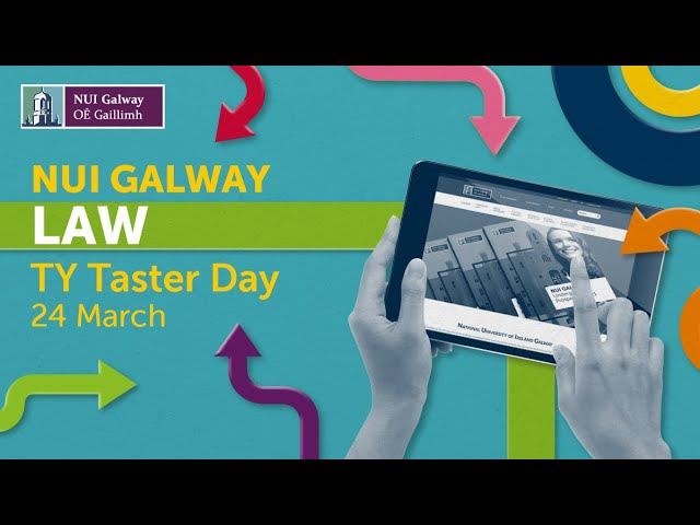 NUI Galway Law TY Taster Day 2021