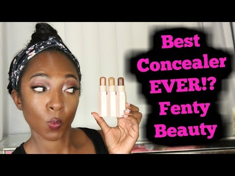 BEST Concealer EVER!? Fenty Beauty Match Stix Trio Review Swatches