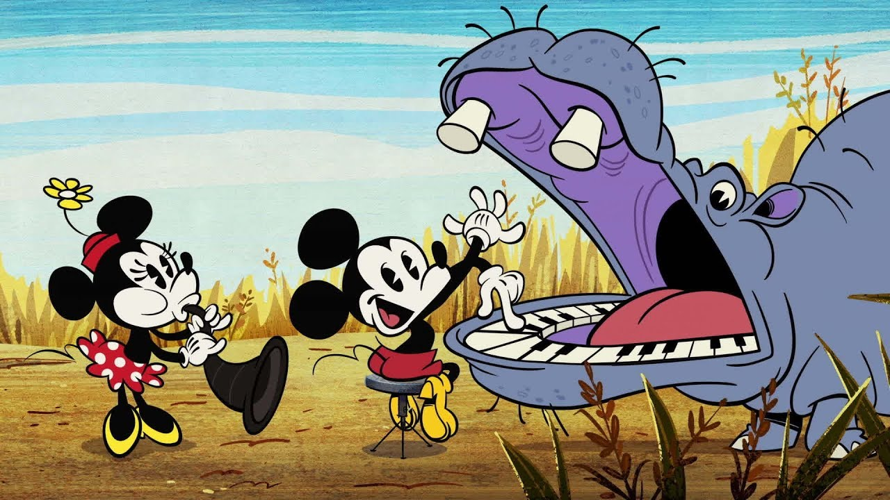 Safari So Good A Mickey Mouse Cartoon Disney Shorts