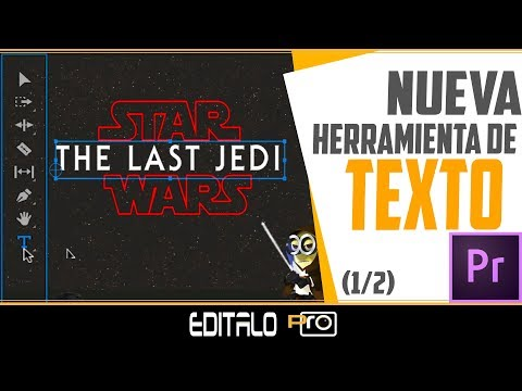 Create Title Star Wars with the New Text Tool (1/2)