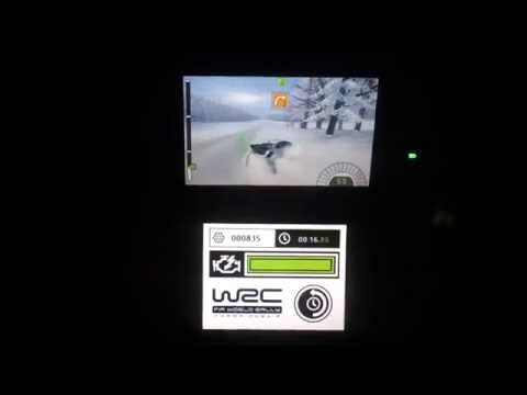 FIA World Rally Championship (WRC) - Unboxing Und Gameplay - Nintendo 3DS
