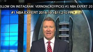 #1 NBA EXPERT +$11210 - 2019-20 NBA FUTURES PICKS AND TEAM WIN TOTAL PREDICTIONS FROM VERNON CROY