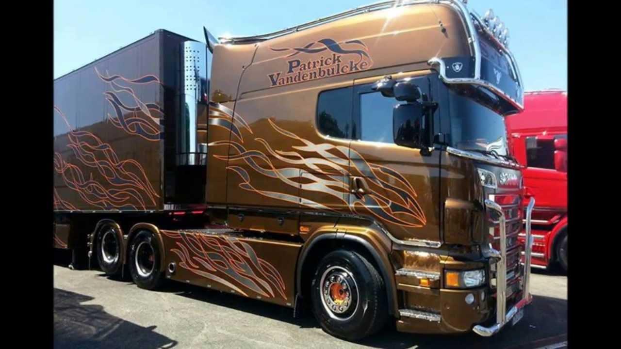 Scania R620 V8 Longline P Van Den Blucke Sth France