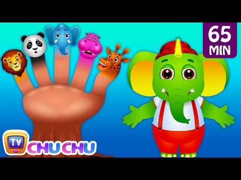Five Little Fingers, Finger Family Song & Many More Popular Nursery Rhymes and Kids Songs  ChuChuTV