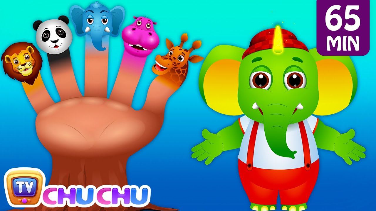 Five Little Fingers, Finger Family Song & Many More Popular Nursery Rhymes and Kids Songs | ChuC