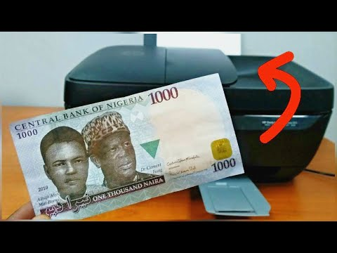 Experiment: What Happens If You Photocopy Money (Nigeria/Naira Edition)