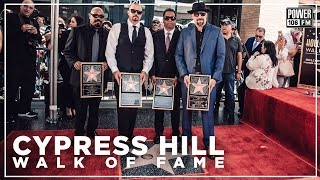 Cypress Hill Gets A Star on The Walk of Fame