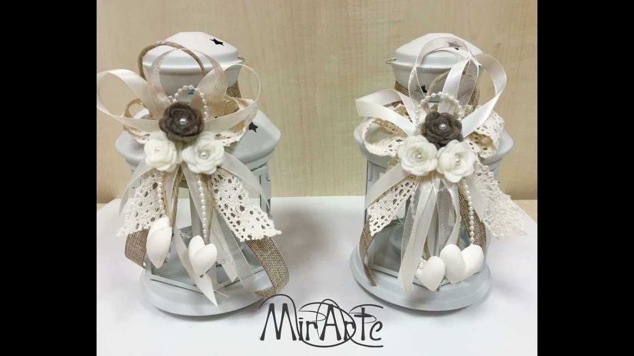 Popolare Video Flash Bomboniere Matrimonio Shabby Chic - YouTube AF78