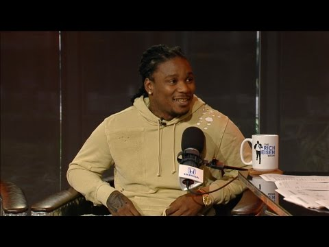 Arizona Cardinals Running Back Chris Johnson Joins The RE Show in Studio - 1/11/17