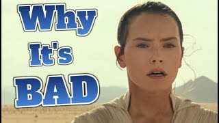 Why The Rise of Skywalker is a BAD Movie