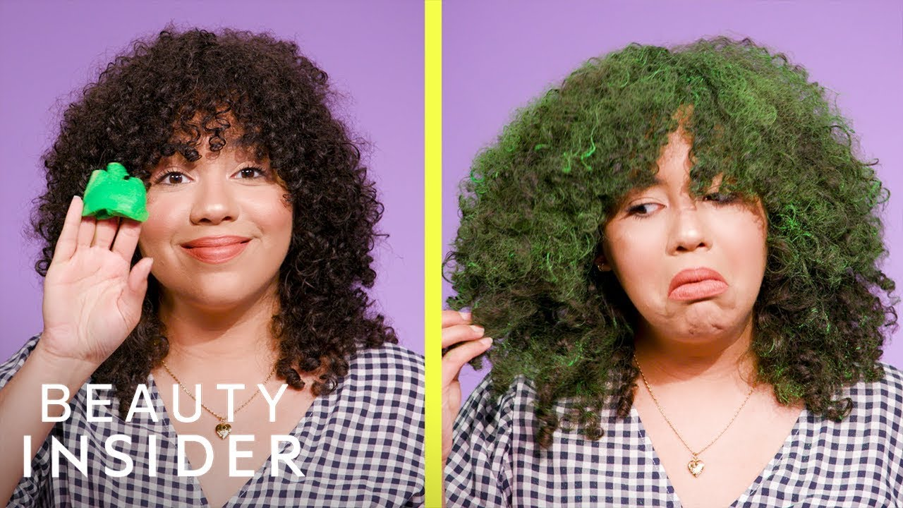 I Tried Four Temporary Hair Dyes That Change Your Hair Color In Seconds Youtube
