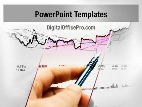 Stock Market Analysis PowerPoint Template Backgrounds