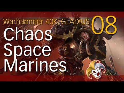 WarHammer 40K GLADIUS ~ CHAOS SPACE MARINES ~ 08 Doom Ark