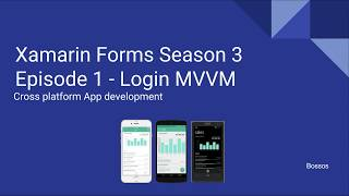 Video Xamarin Tutorial Season 3 Episode 1 MVVM Login download MP3, 3GP, MP4, WEBM, AVI, FLV Oktober 2018