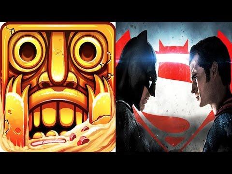 Temple Run 2 vs Batman v Superman