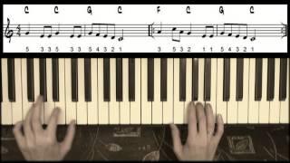 Ёлочка - видео 01 - так будем играть после прохождения урока