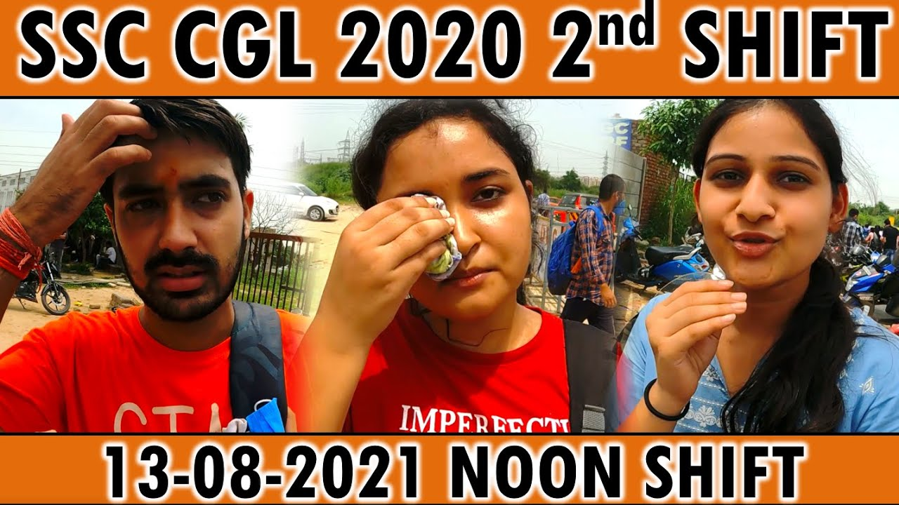 Download SSC CGL ANALYSIS 13 AUGUST 2021 2ND SHIFT EXAM REVIEW SSC CGL 2020 TIER 1 PRE ALL QUESTIONS MATHS GK