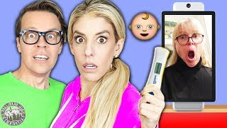 Our BIG SECRET REVEAL to MOM! (Spending 24 Hours Using Hacks and Tricks to Spy Prank Best Friend)