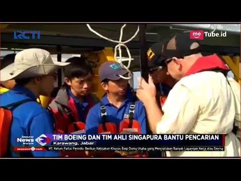 Tim Boeing Amerika dan Tim Ahli Singapura Bantu KNKT Cari CVR Lion Air JT 610 - SIM 02/11