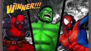 ULTIMATE MARVEL VS. CAPCOM 3 Spiderman,Deadpool,Hulk Gameplay With Spiderman's Ending