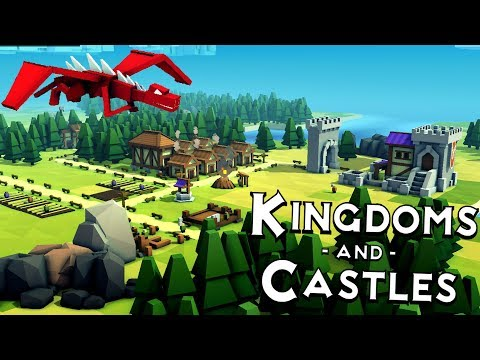 Kingdoms and Castles - Dragons, Fire & Storms! - Building a Kingdom - Kingdom & Castles Gameplay