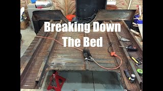 Disassembling the Bed, Ready to Shorten | Chevy C10 ep. 5