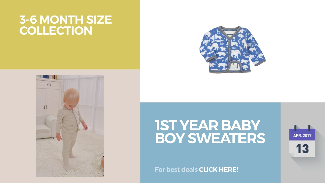c7b6d1969 1St Year Baby Boy Sweaters 3-6 Month Size Collection - YouTube