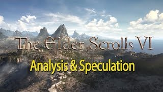 Elder Scrolls VI Teaser Trailer Analysis & Speculation
