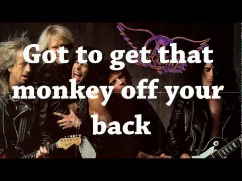 Monkey On My Back - Aerosmith (Lyrics)