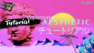 Photoshop cs6 Tutorial  :  Vaporwave 𝓐𝒆𝓼𝓽𝓱𝒆𝓽𝓲𝓬 Picture  : 
