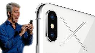 Le problème avec l'iPhone X