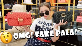 Real Vs Fake GUCCI Marmont Bag ( Spot the Difference )