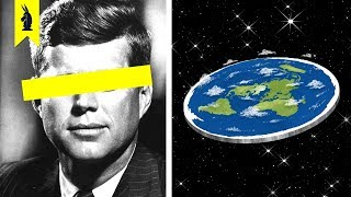 How Conspiracies Changed (Flat Earth, Anti-Vaxxers) – Wisecrack Edition