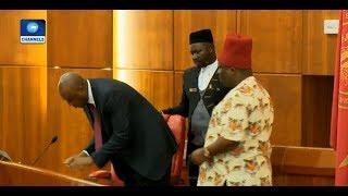 Political Round Up: Umeh Sworn-In As Senator |Politics Today|