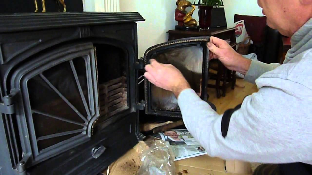 How to Clean Wood Burner Glass Easily on Log / Wood / Multi Fuel Stove /  Room Heater. - How To Clean Wood Burner Glass Easily On Log / Wood / Multi Fuel