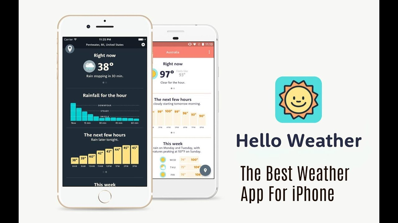 weather app for iphone the best iphone weather app hello weather review ios 3399