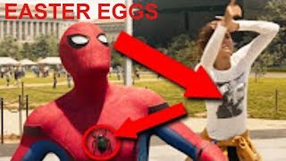Spider-Man Homecoming EASTER EGGS You Missed + POST-CREDIT SCENES Explained