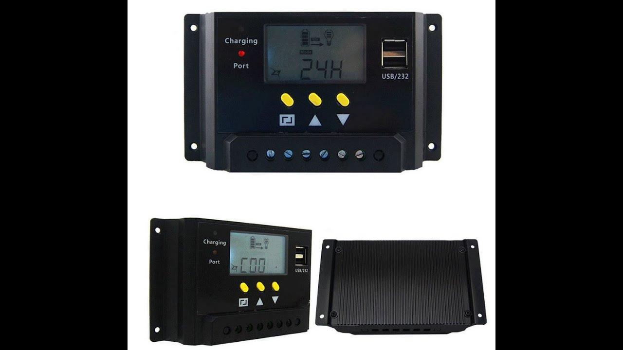 Отличный бюджетный контроллер заряда для солнечных батарей LMS2420 с сюрпризом внутри!