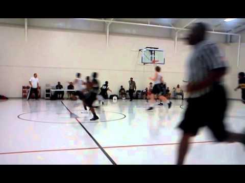 Lorenzo first basket