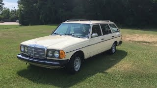 1981 Mercedes-Benz 300TD Turbo Diesel Wagon