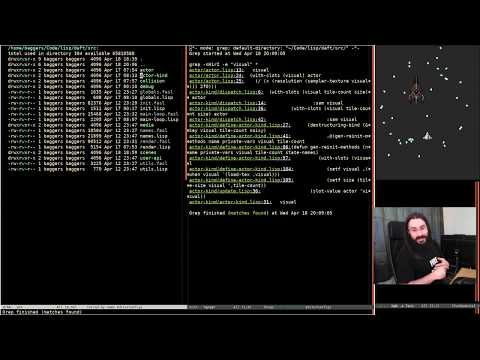 Pushing Pixels with Lisp - Episode 38 - Daft 2D Engine (Part