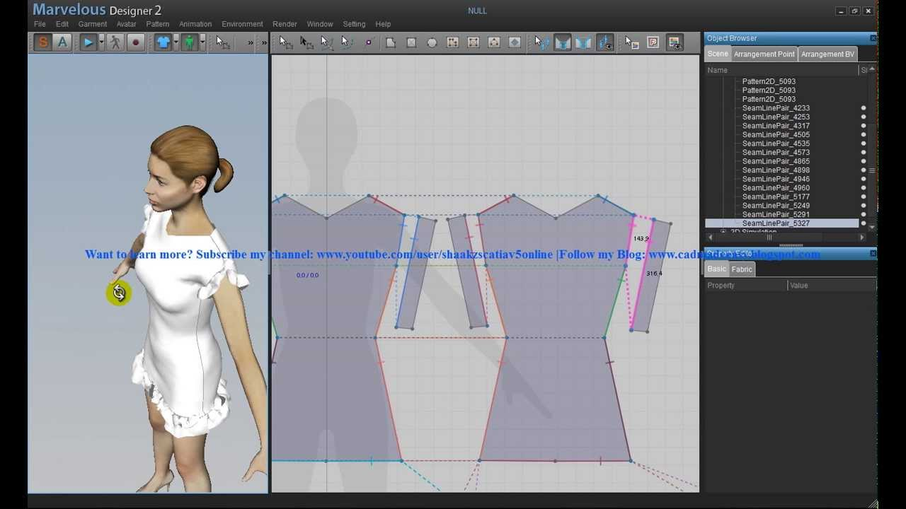 Cad fashion design tutorial 3