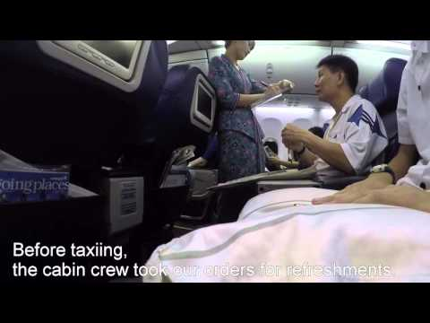 FIRST BUSINESS CLASS: MH608 SIN-KUL MALAYSIA AIRLINES