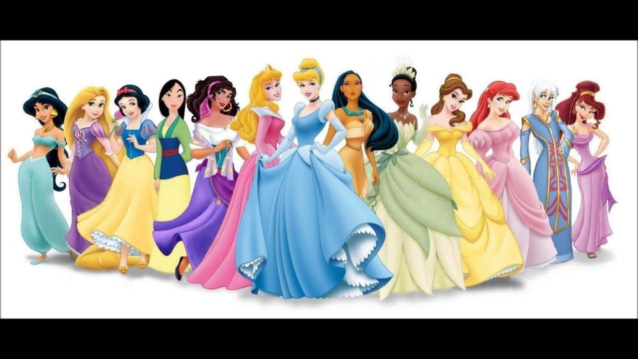 Two best friends on the disney princesses youtube - Nachtlicht disney princess ...