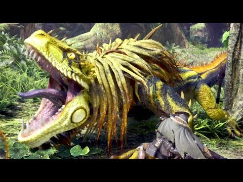 Download Youtube: Huntin' Dinosaurs! - Monster Hunter World Gameplay HD