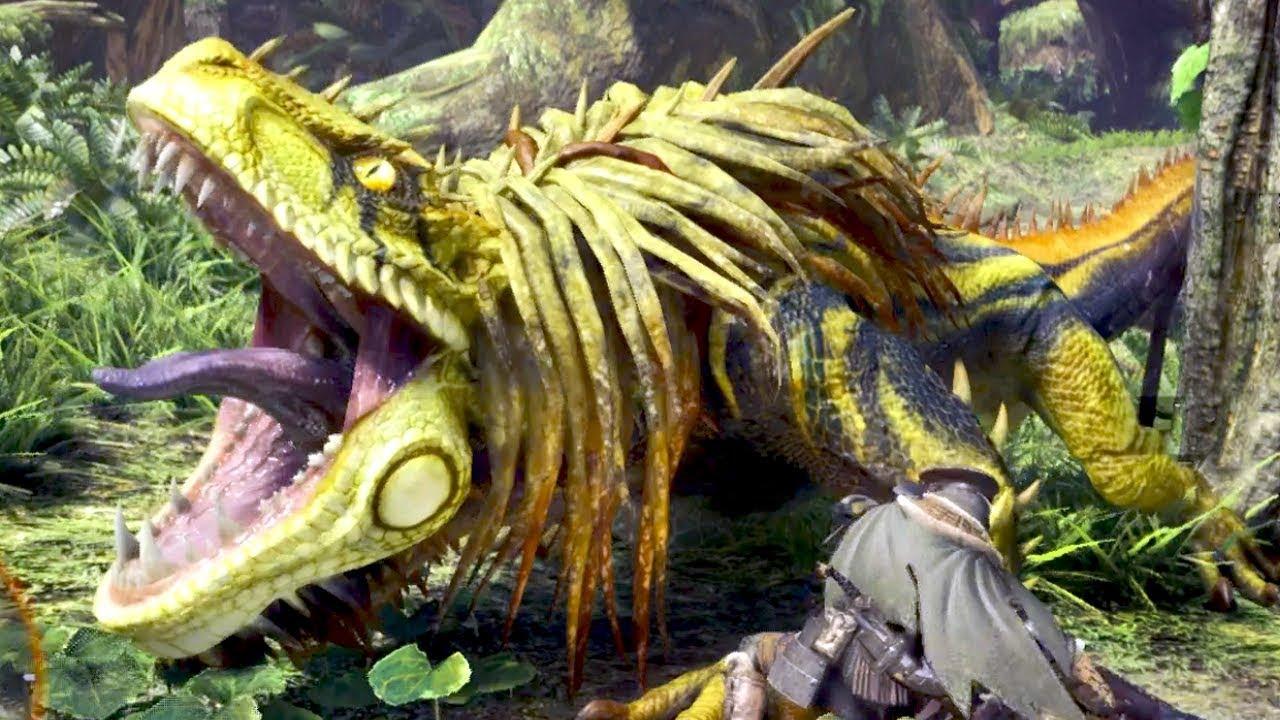 Huntin' Dinosaurs! – Monster Hunter World Gameplay HD