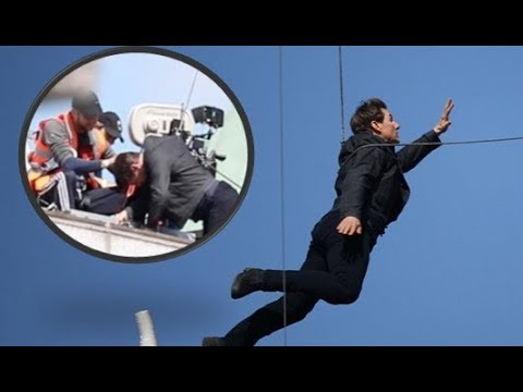 WATCH !!! Tom Cruise Injured While Filming Stunt on 'Mission: Impossible 6' Set - VIDEO